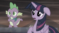 "Twi ""...that led you to make your village without cutie marks"" S5E26"