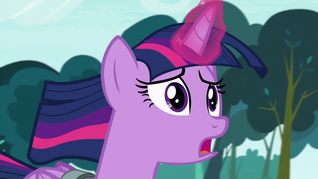 "File:Twilight Sparkle ""it's been so terrible so far"" S7E3.png"