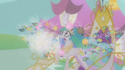 Twilight imagines Celestia attacked by parasprites S1E10