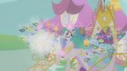 Twilight imagines Celestia attacked by parasprites S1E10