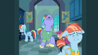 Bow and Windy leave the locker room in tears S7E7