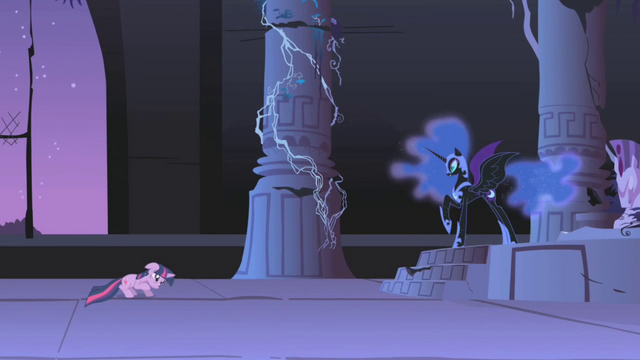 """File:Nightmare Moon """"now you will never see your princess"""" S01E02.png"""