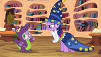 Spike about to respond S2E4