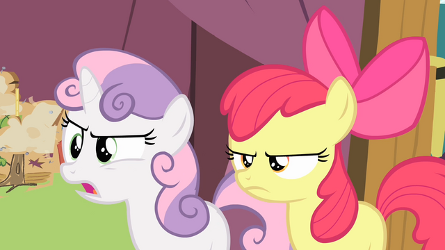 File:Sweetie Belle 'Ms. Harshwhinny never said anything about that!' S4E05.png