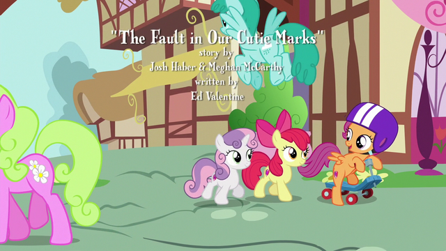 File:Cutie Mark Crusaders walking through Ponyville S6E19.png