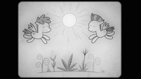 Film - Two pegasi and flowers S2E22