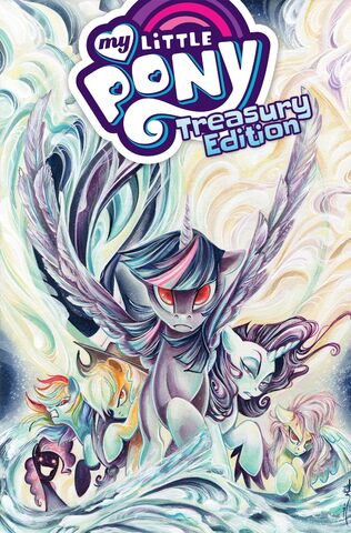 File:MLP Treasury Edition - Ponies of Darkwater cover.jpg