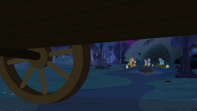 File:The other ponies on the campsite S3E06.png