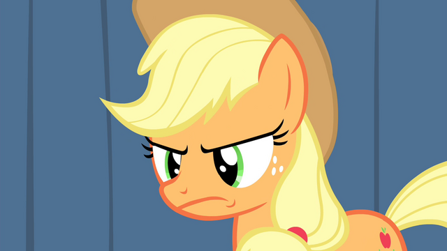 File:Applejack is not pleased S4E20.png
