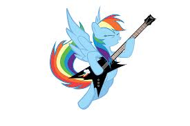 File:FANMADE Rainbow Dash plays the guitar.png