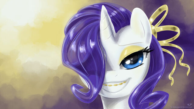 File:FANMADE Rarity with gold braces.jpg