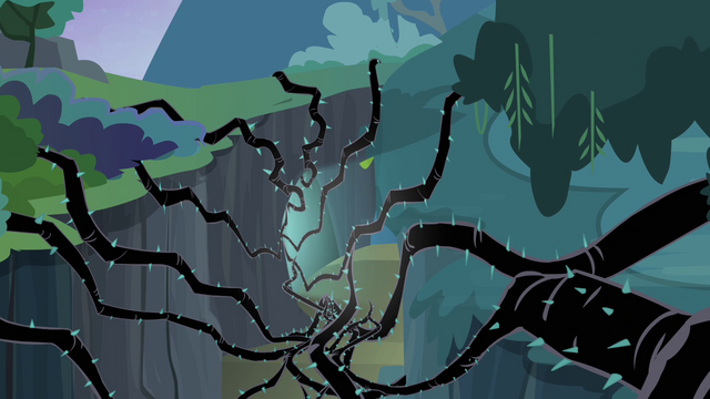 File:Light and black vines in a cave S4E02.png