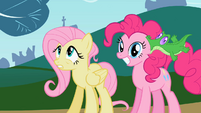Pinkie Pie and Fluttershy1 S02E07