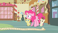 Pinkie Pie catches herself S2E13.png