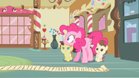 Pinkie Pie catches herself S2E13