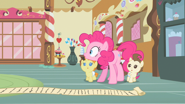 File:Pinkie Pie catches herself S2E13.png