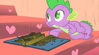 Spike and the burned book S1E24