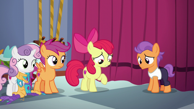 "File:Apple Bloom ""too caught up in myself to listen"" S6E4.png"