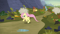 Fluttershy galloping after Twilight S5E23.png