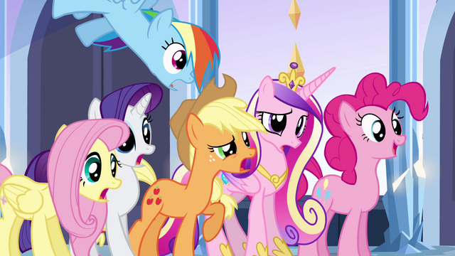 "File:Main 5 and Cadance ""dancing?!"" EG.png"