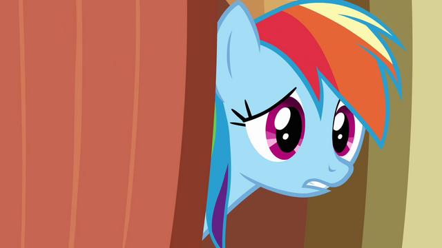 "File:Rainbow Dash ""hey guys"" S03E13.png"