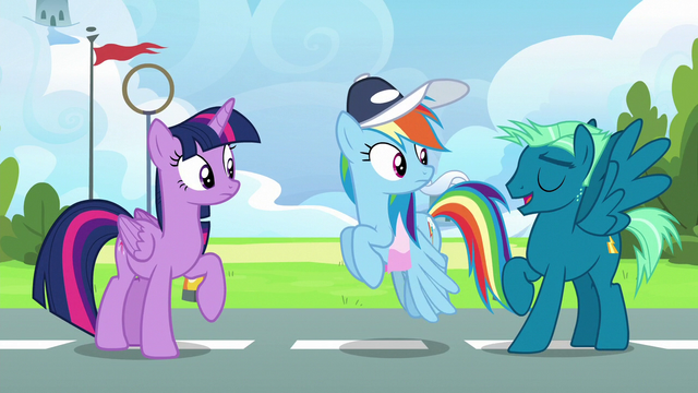 File:Sky Stinger lands next to Rainbow and Twilight S6E24.png