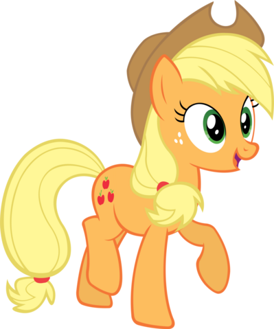 File:FANMADE Applejack vector by Qsteel.png