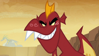 Garble grinning S2E21