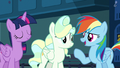 "Rainbow Dash ""he should practice with Twilight"" S6E24.png"