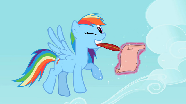 File:Rainbow Dash Winking S2E8.png