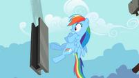 Rainbow Dash close one S2E8