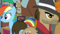 Rainbow and henchponies pass each other S6E13.png