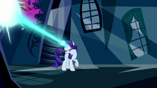 File:Rarity blasts another dress with magic S5E13.png