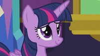 Twilight Sparkle in mild amusement S5E20