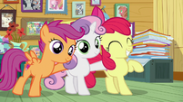 Cutie Mark Crusaders are on the job S7E6