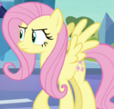Pinkie Pie as Fluttershy ID S3E1.png
