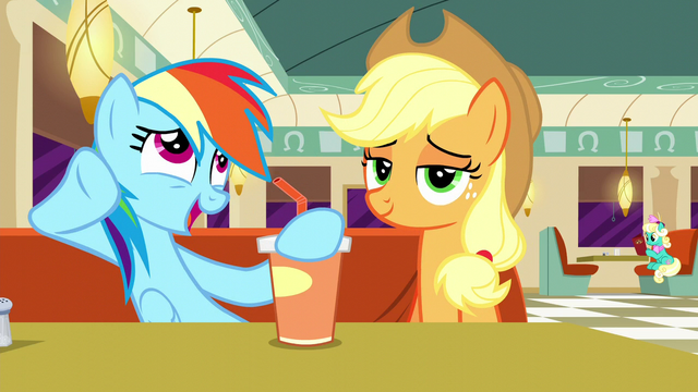 "File:Rainbow ""Only Twilight could make a dance remix about sweeping"" S6E9.png"