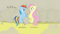 Rainbow Dash and Fluttershy S2E26
