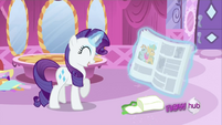 Rarity laughing S2E23