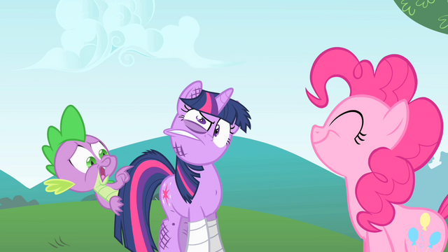 File:Spike asks Pinkie if her tail is still twitching S1E15.png