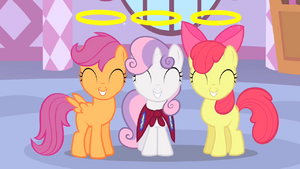 Cutie Mark Crusaders angels S1E17.png