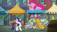 "Pinkie Pie ""a rock pouch was the perfect gift"" S6E3"