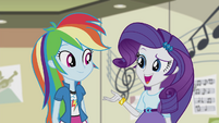"Rarity ""whatever made you think of Pinkie"" EG2"