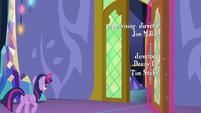 Twilight Sparkle opens a castle door S6E22