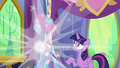 Discord vanishes before Twilight's eyes S7E1.png