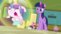 Flurry Heart makes another magic barrier S7E3.png