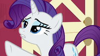 "Rarity ""let's not kid ourselves!"" S6E10"