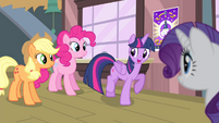 Twilight 'looking at Star Swirl the Bearded artifacts!' S4E11