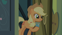 "Applejack ""Want a glass of water?"" S4E17"