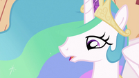 Princess Celestia talking S2E03